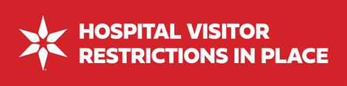 Hospital Visitor Restrictions in Place